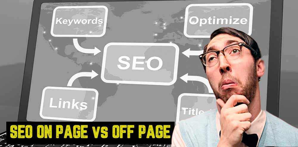 diferencia seo on page y seo off page